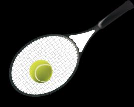tennisraquet-ball