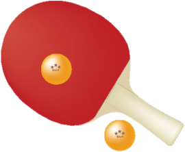 tennisbat-ball
